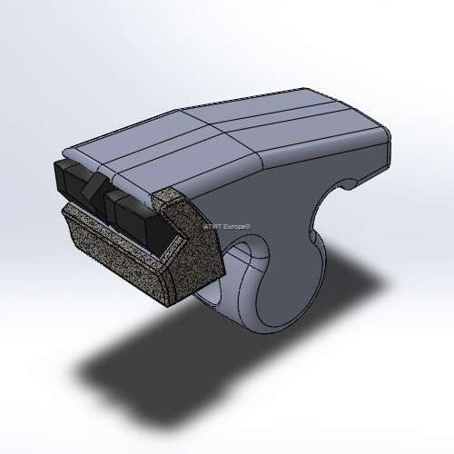 Hammer fitting to Plaisance, with 3 carbide tips and 2 layers of CGP, right