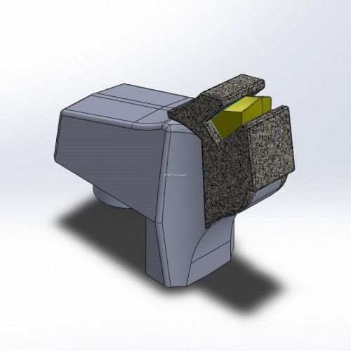 Hammer fitting to F-A-E, 300U en UMH series, with 1 carbide tip and 1 layer of CGP round Tough Quallity