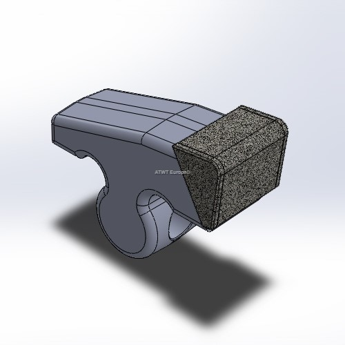 Hammer fitting to Plaisance, with 7 layers of CGP