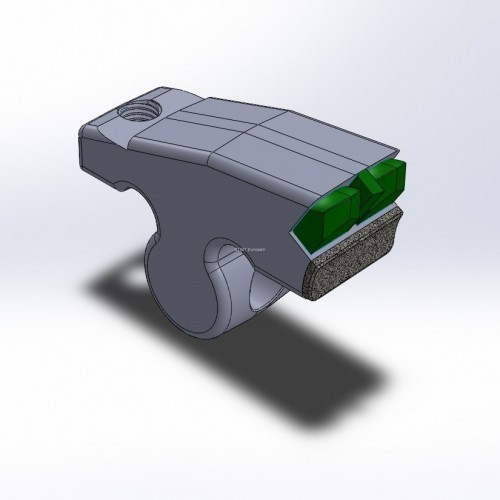 Hammer fitting to Plaisance, with 3 carbide tips and 1 layer of CGP