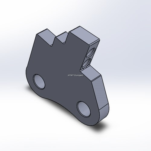 Holder fitting to Duratech, HD8/10 and TG2009/3010, model MB1